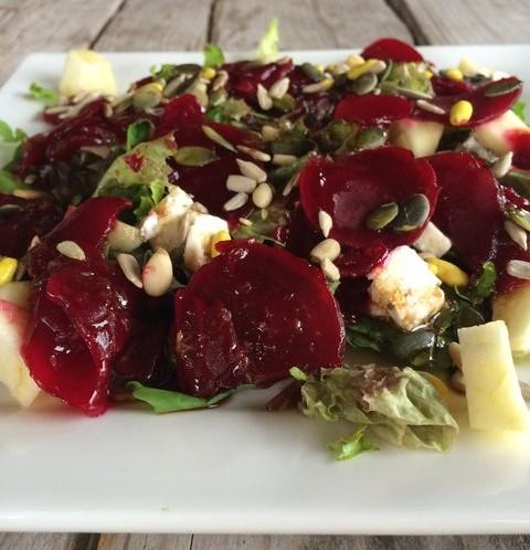 Salade rode biet diner