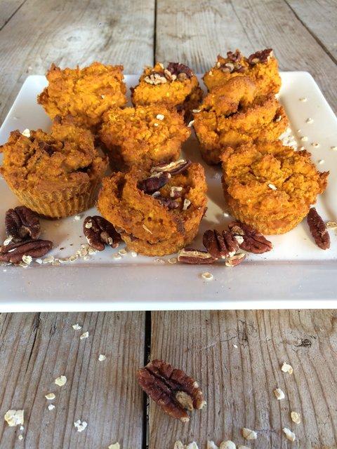 pompoen gezond muffins herfst