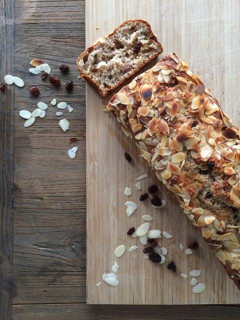 Kwarkbrood gezond recept ontbijt